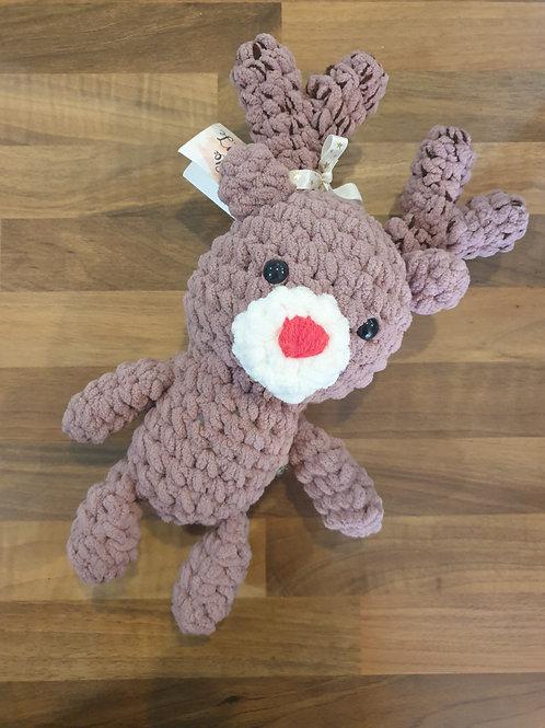 Crochet reindeer by Little Betties