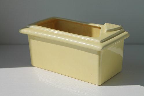 Vintage Yellow Ceramic Dish/Planter