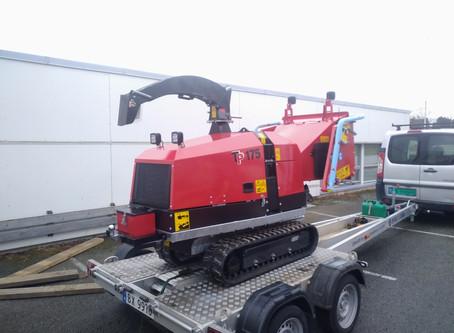 Vår nye Fliskutter TP 175 har ankommet