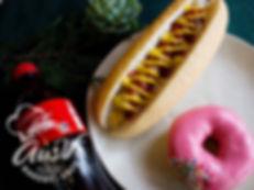 Hot Dog, Donut