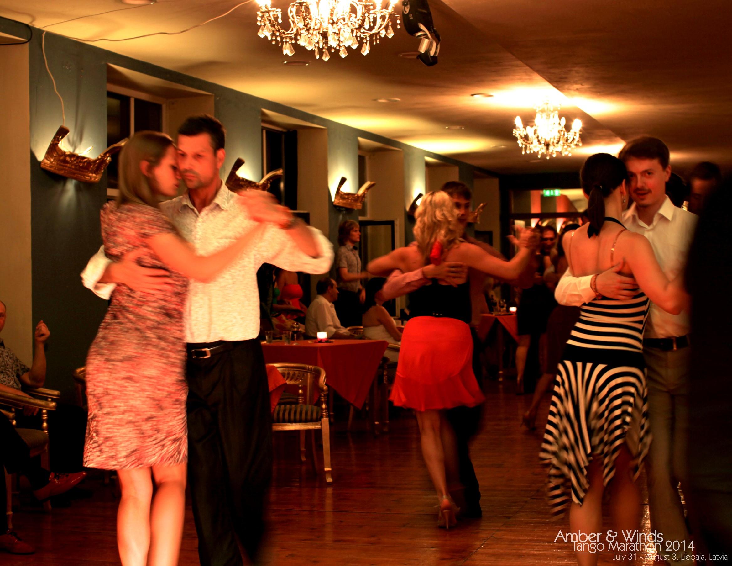 Amber & Winds Tango Marathon 2014