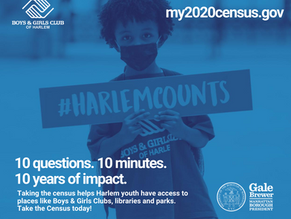 Take the 2020 Census! #HarlemCounts