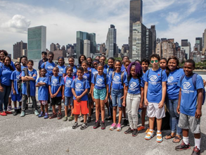 The New York City Collaborative of the Boys and Girls Clubs hosted its inaugural field day on Randal