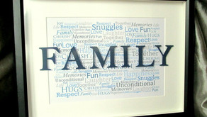 A Kid's Literacy Lesson Plan: Ways to Remember Family & Ancestry - Make a Word Art Picture Frame