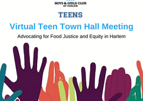 Teen Virtual Town Hall