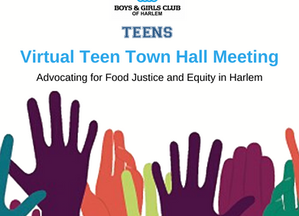 Teen Virtual Town Hall