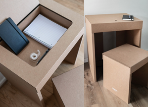 A Desk of One's Own: Innovative Cardboard Desks For BGCHarlem