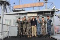 USNS RED CLOUD Hosts ROK Senior Military Visit