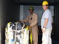 USNS DAHL assists Saipan after Typhoon Soudelor