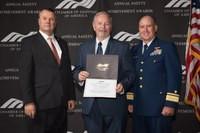 Patriot Accepts Safety Award