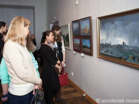 Путешествие по картинам: пейзажная и пленэрная живопись Алексея Буртасенкова