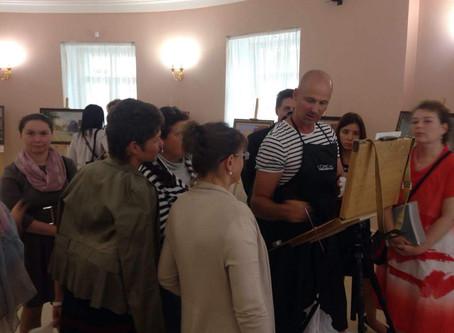 Новые передвижники поздравили Москву и Московскую городскую Думу с днём рождения