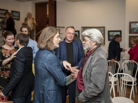 Презентация выставки А. Буртасенкова, обладателя приза ГБУ «МДН» «За создание художественно-историче