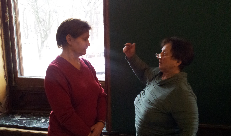 Маргарита Максименко (слева) и Зинаида Ведешина