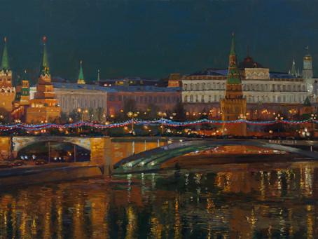Вольный пленэр «Московские каникулы»