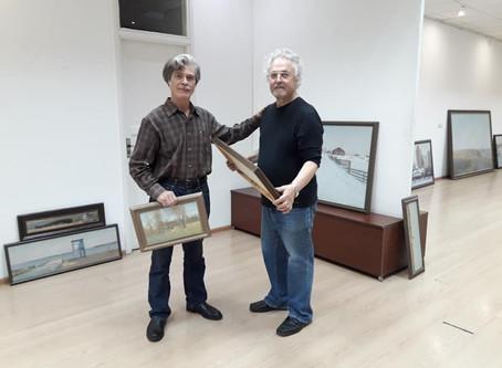 В главном зале Союза художников России открывается юбилейная выставка народного художника РФ Валерия