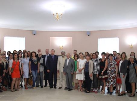 Московские художники поздравляют столицу с Днем города
