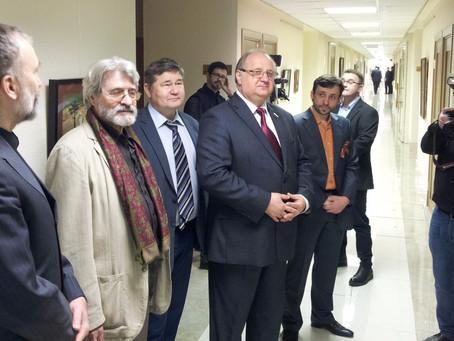 В Совете Федерации открылась выставка «Страницы Победы», посвященная 72-й годовщине Победы в Великой