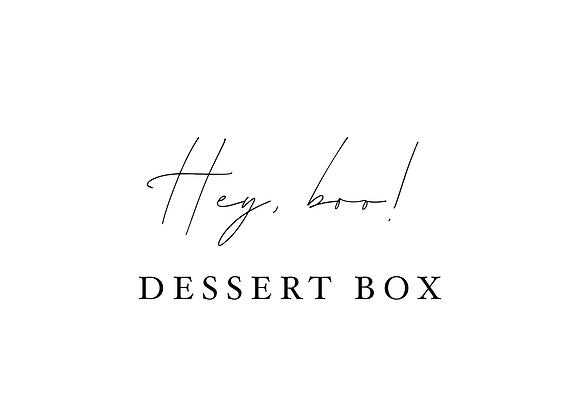 Hey, BOO! Dessert Box