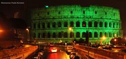 Illuminazione del Colosseo