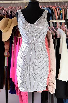 Bodycon Embellished Mini Dress
