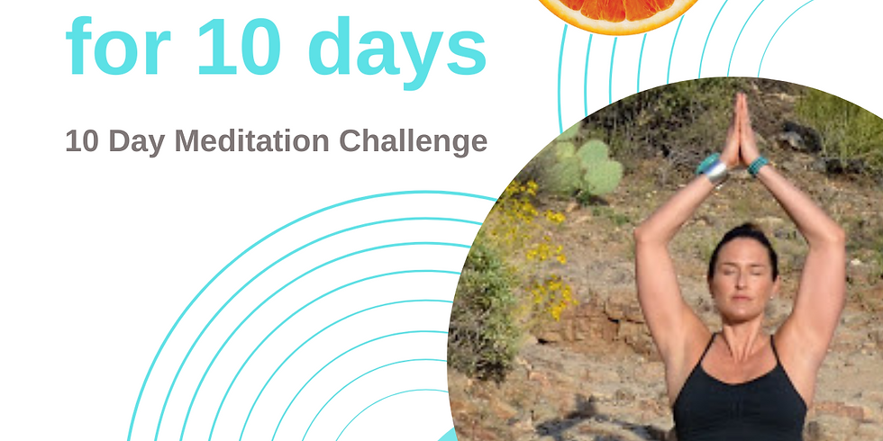 10 day meditation challenge