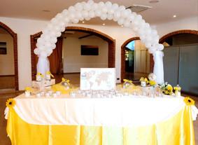 Happy Family Bakery - Allestimento matrimonio