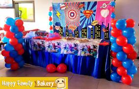 Happy Family Bakery - Supereroi Party