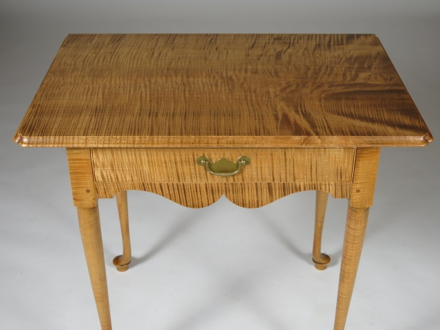 Handmade reproduction end table