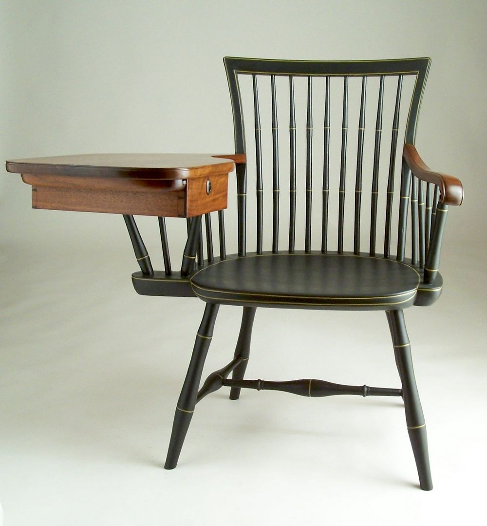 Windsor writing armchair