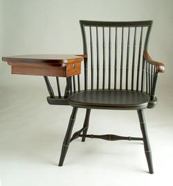 Windsor writing armchair