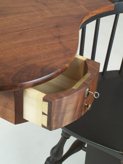Writing Arm-Chair Drawer
