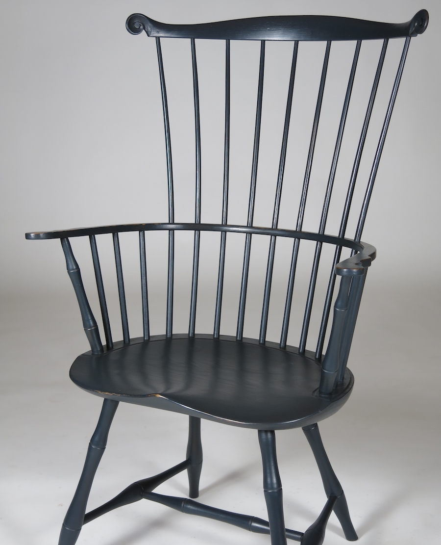 comb-back arm chair