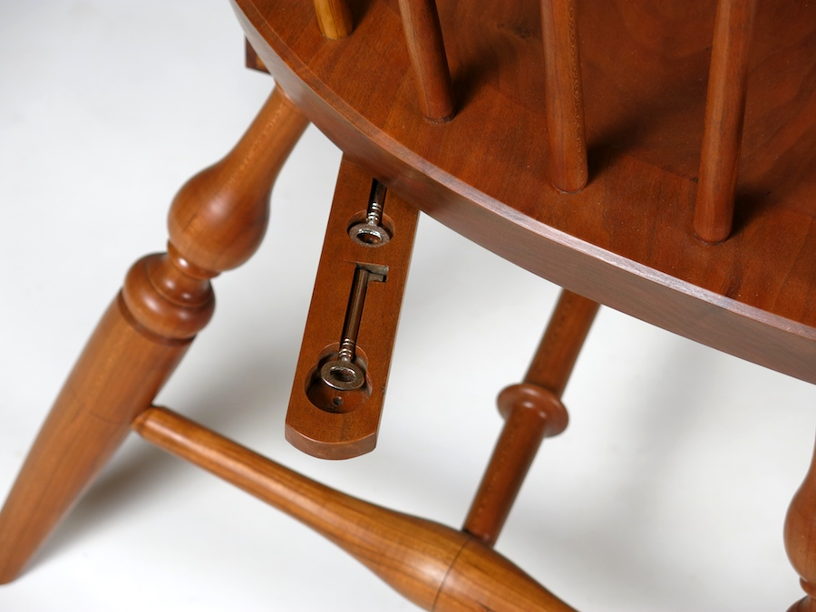 hidden key windsor chair