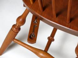 hidden key windsor chair