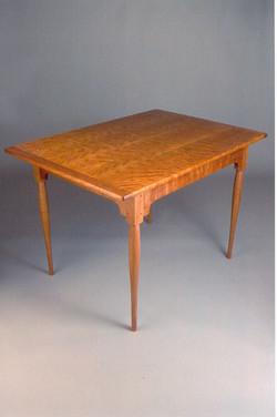 Handmade cherry breakfast table