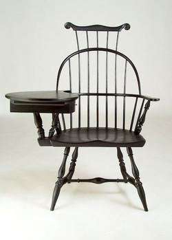 Sack-Back Writing-Arm Chair