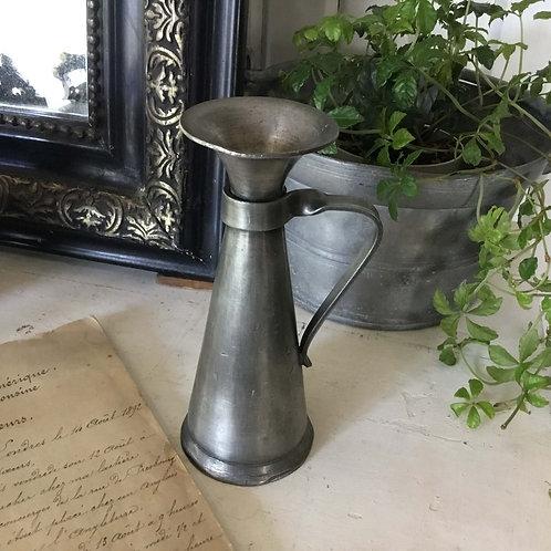 フランス アンティーク エタンの花瓶 一輪挿し ピューター