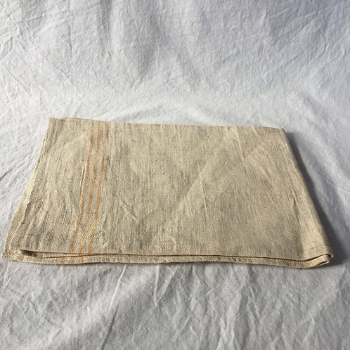 フランス アンティークリネン トーション ティータオル キッチンタオル 50 x 71 cm