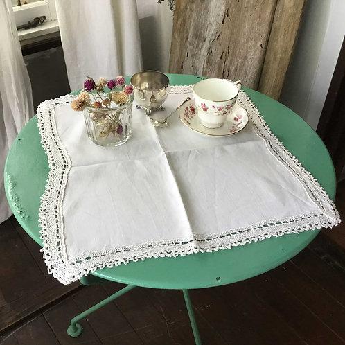 (在庫2) フランス アンティーク リネン テーブルナプキン 45 x 45