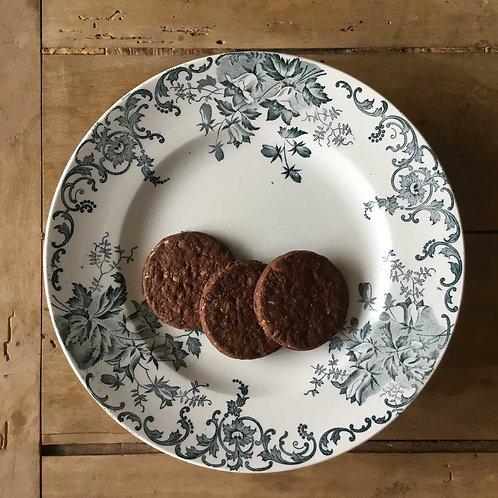 フランス サンタマン エ アマージュ ノール カンパニュル アンティーク コンポティエ ケーキ皿 23.2 cm (送料無料)