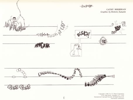 The Minerva Festival's Guide to Graphic Scores