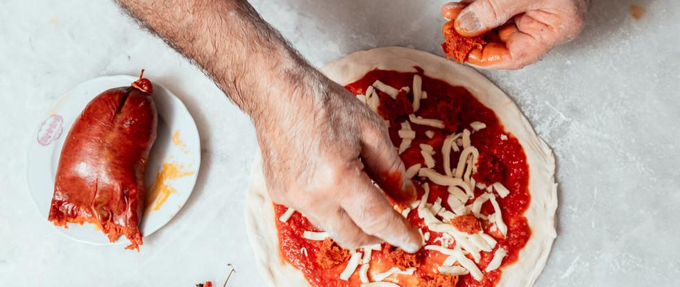 Auténticas pizzas italianas...
