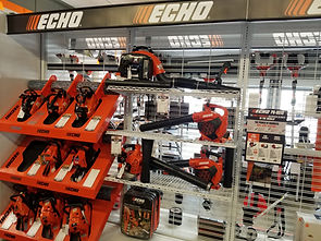 Echo chainsaws and blowers