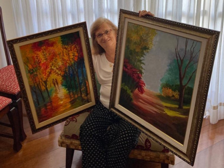 Hobbies e talentos: Pintura, dança e aprendizado constante