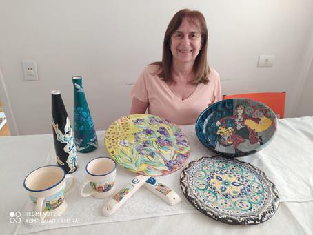 Hobbies e talentos: A arte da Cerâmica - De hobby à  atividade profissional