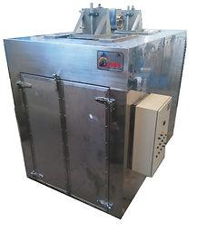 horno deshidratador 3 vagonetas 150 char