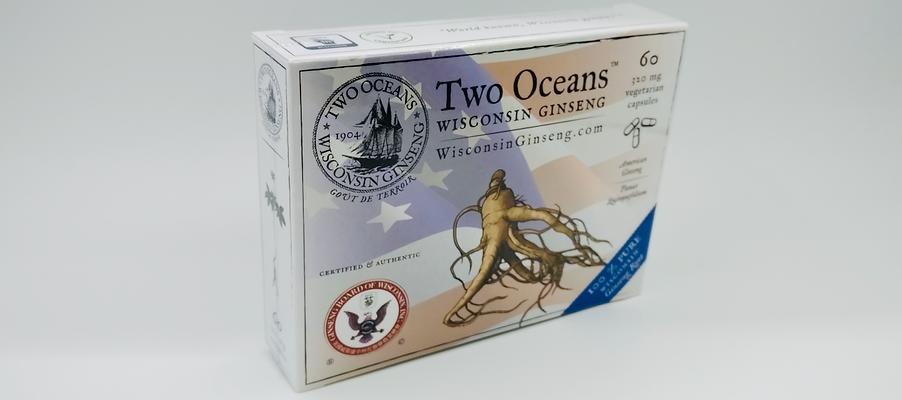 Premium 100% Pure Wisconsin Ginseng Capsules
