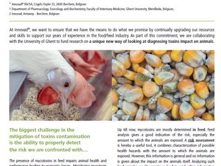 Bio-monitoring mycotoxins : A new avenue to measure the impact of toxins on animals