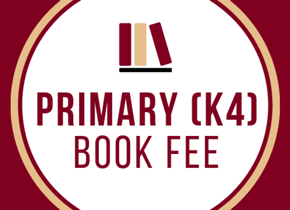 Primary Book Fee (K4)